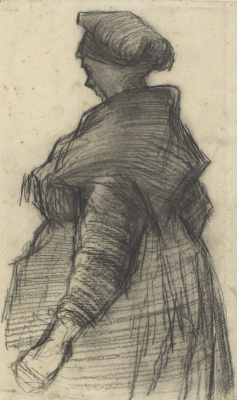 Vincent van Gogh. A woman with a shawl