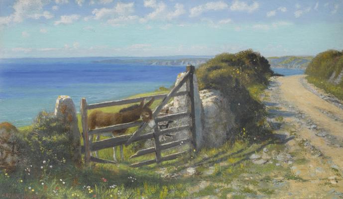 Arthur Hughes. Sunny day