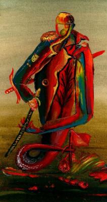 Владимир Васильевич Абаимов. Warrior of bygone battles