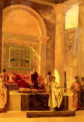 Жан-Жозеф Бенжамен-Констан. Тронный зал в Византии