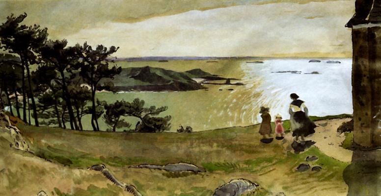 Alexander Nikolaevich Benoit. Lake Primal. Brittany