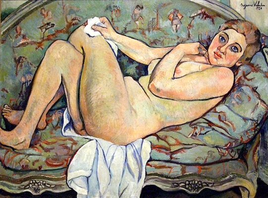 Suzanne Valadon. Reclining Nude
