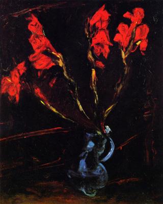 Haim Solomonovich Soutine. Gladiolus