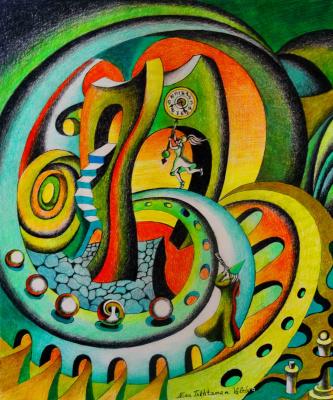 Nina Tokhtaman Valetova. The pursuit of time