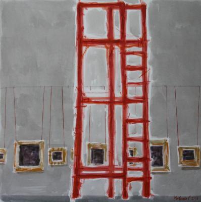 Novikov Anatolyevich Vladimir. Red staircase