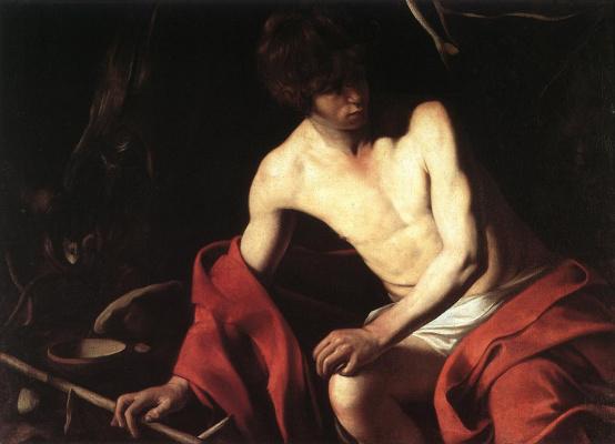 Michelangelo Merisi de Caravaggio. John The Baptist