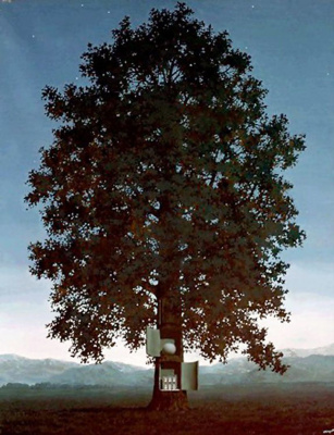 René Magritte. The voice of the blood