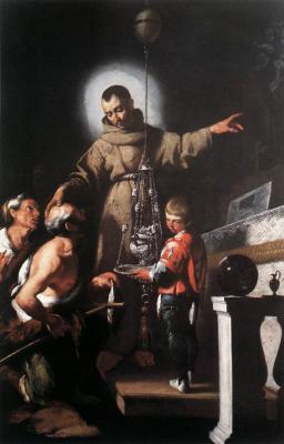 Бернардо Строцци. Чудо святого Диего из алькантары
