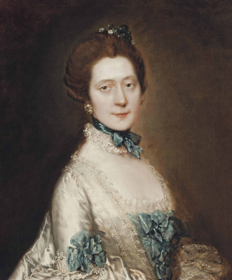 Thomas Gainsborough. Portrait of Lady Ann Fourier, nee Greenly
