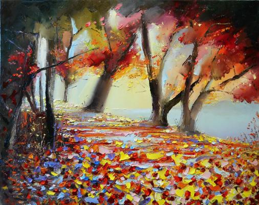 Vadim Anatolyevich Stolyarov. Crimson autumn
