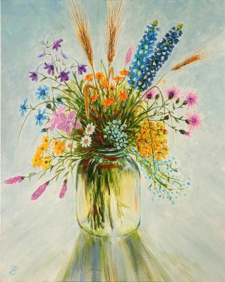 Dmitry Eremenko. Bouquet of wildflowers