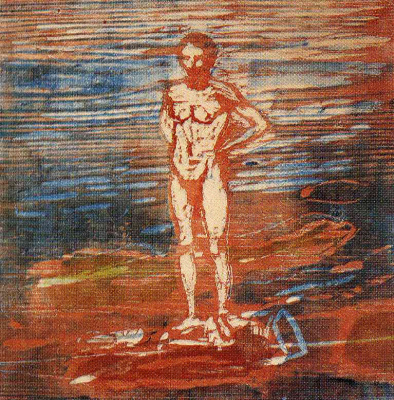 Edvard Munch. Bather