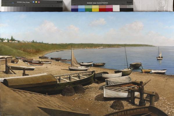 Valentin Revelioti. Boats Liman K. Bugaz
