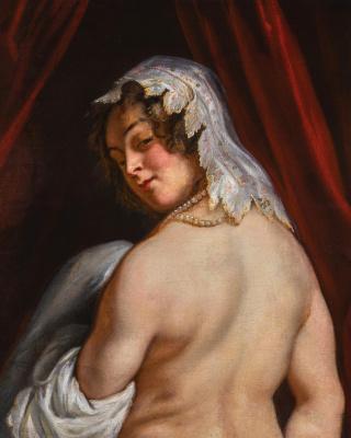Jacob Jordaens. Wife of Kandaules, King of Lydia