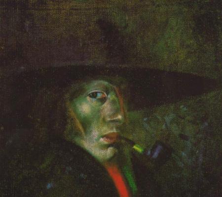 Salvador Dali. Self Portrait Figueres