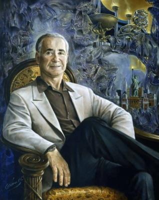 Mikhail Khokhlochev. Portrait of gary