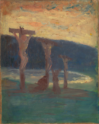 Harald Oskar Sohlberg. The Crucifixion