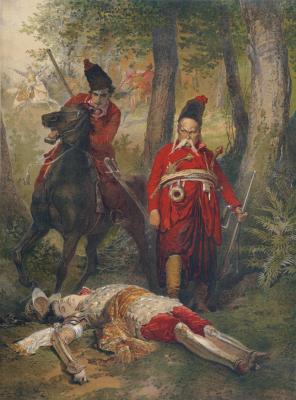 Mikhail Alexandrovich Zichy. Taras Bulba