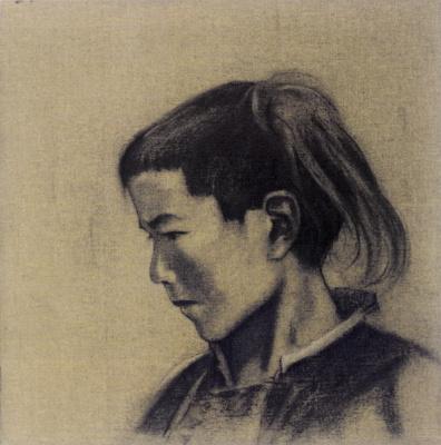Svyatoslav Nikolaevich Roerich. Portrait of a young man