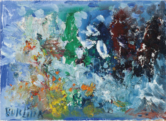 David Davidovich Burliuk. Abstract colors
