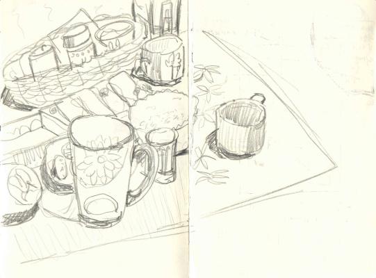 Zonk197. Мы пили чай на кухне