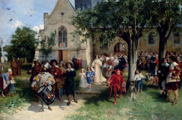 Joseph Israel. Wedding procession