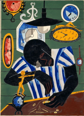 Jacob Lawrence. Watchmaker
