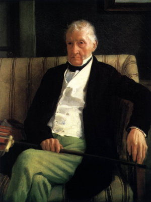 Эдгар Дега. Портрет Рене Илера Дега, отца художника