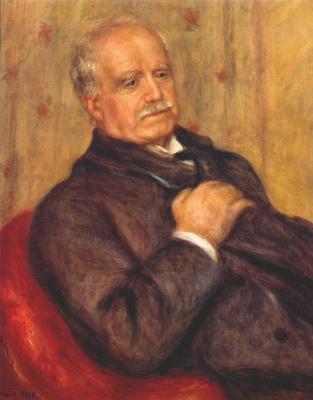 Pierre-Auguste Renoir. The Portrait Of Paul Durand-Ruel