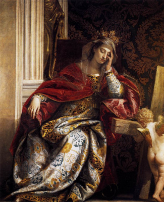 Paolo Veronese. Vision of Saint Helena