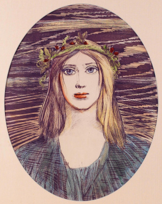 Ernst Fuchs. Four seasons. Autumn
