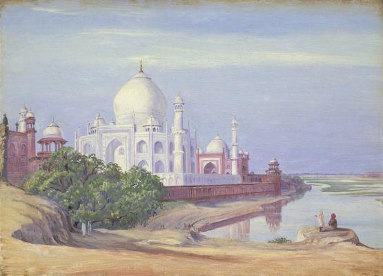 Marianna North. Taj, Agra and Far Fort, India