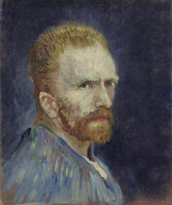 Vincent van Gogh. Self-portrait (1887 version)