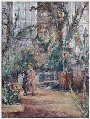 Yuri Ivanovich Pimenov. In the Botanical garden