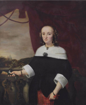 Фердинанд Балтасарс Боль. Портрет Анны Марии ван Натт