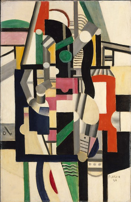 Fernand Leger. Mechanical elements