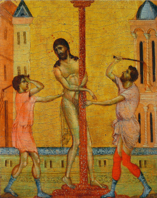 Cimabue (Chenny di Pepo). The Flagellation of Christ
