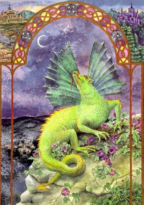 Эндрю Венди. Зеленый лунный дракон