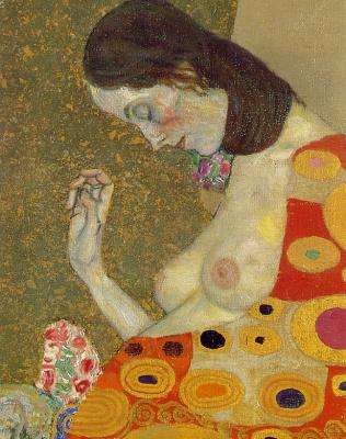 Gustav Klimt. Hope II (detail)