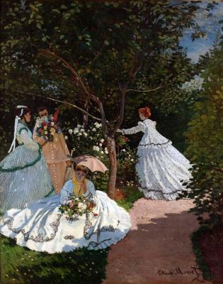 Клод Моне. Женщины в саду