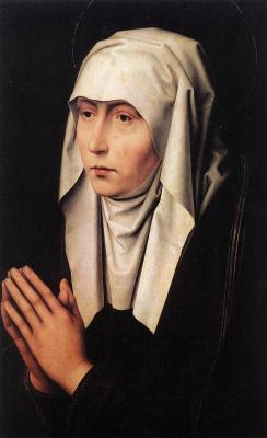 Ганс Мемлинг. Молящаяся женщина