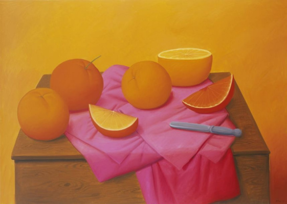 Фернандо Ботеро. Апельсины