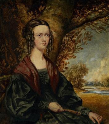 Ричард Дадд. Portrait of Elizabeth Langley
