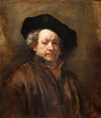 Майкл Вайнберг. Мужской портрет