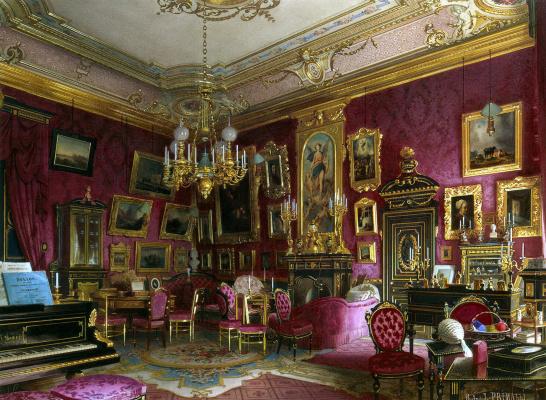 Luigi Premazzi. Mansion of Baron Stieglitz
