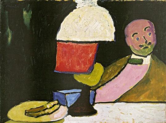 Gabriele Münter. Slusajuci (Portrait Of Jawlensky).