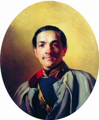 Konstantin Makovsky. Portrait of an unknown