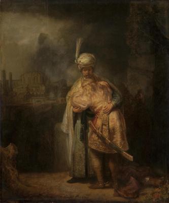 Rembrandt Harmenszoon van Rijn. David and Jonathan