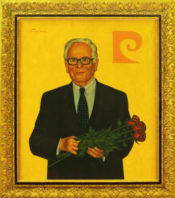 Nikolai Nikolayevich Sednin. Portrait Of Pierre Cardin