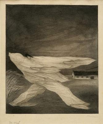 Alfred Cubin. Wind